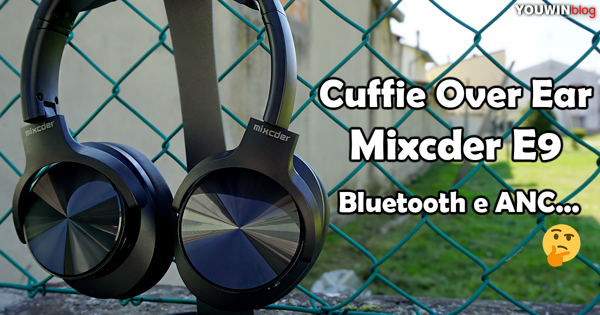 Cuffie Over Ear Mixcder E9