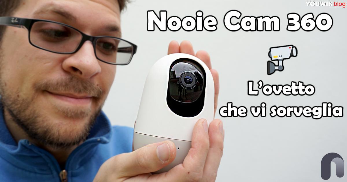 Telecamera Nooie Cam 360