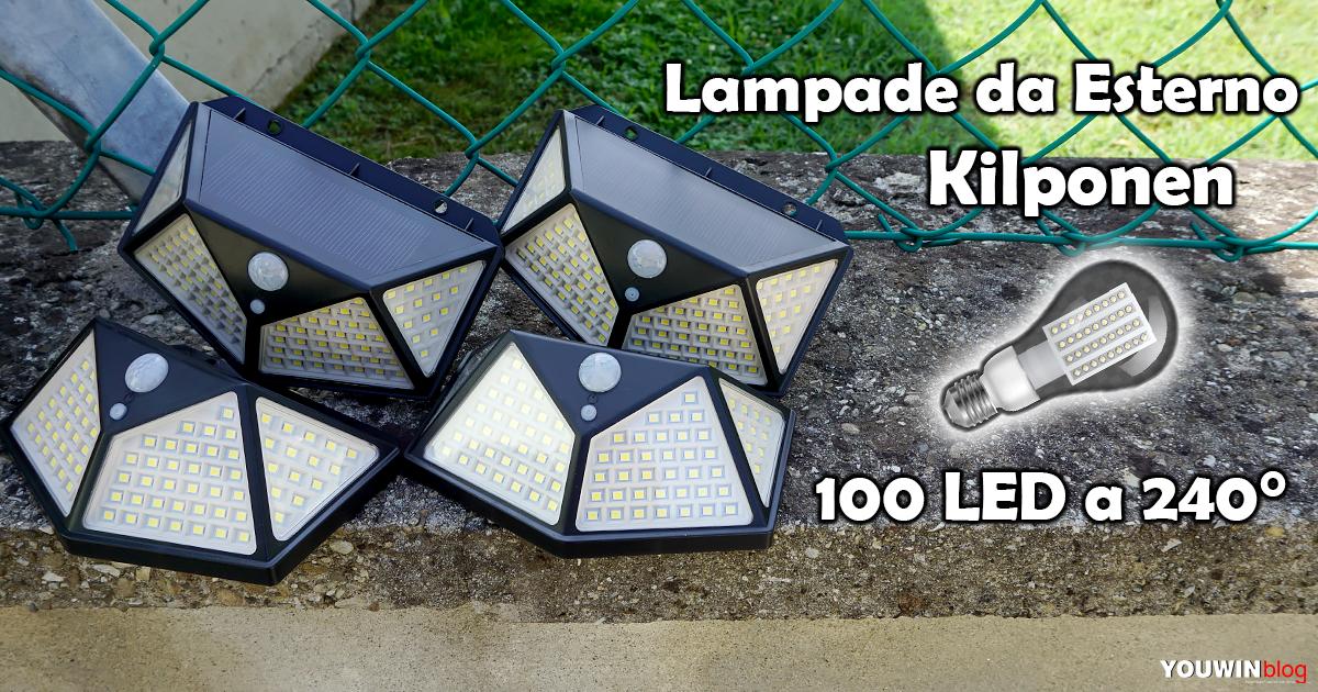 Kit Lampade 100LED Kilponen