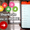 More Shortcuts: disinstallare APP e scorciatoie