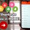 More Shortcuts: disinstallare APP e scorciatoie