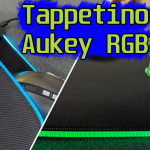 Tappeto mouse Aukey RGB KM-P6