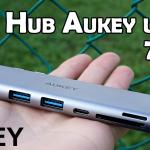 HUB USB-C Aukey CB-C76