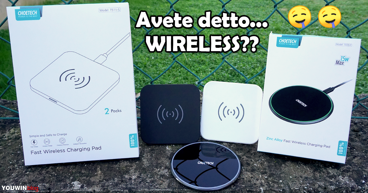 Caricatori Wireless CHOETECH