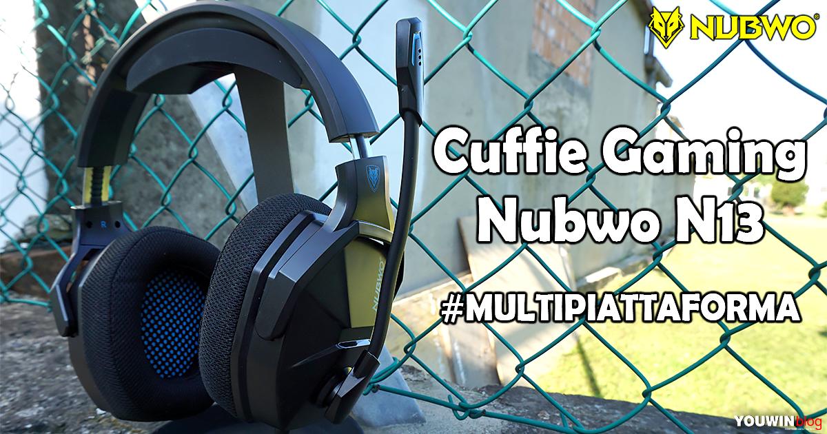 Cuffie Gaming NUBWO N13